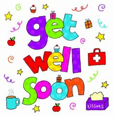 Get Well Card Template Soon