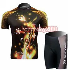 Cycling Bike Bicycle Sportwear Short Sleeve Clothing Suit Jersey + Shorts S-2XL