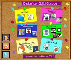 TOUCH questa immagine: Design Your Digital Classroom by Susan Oxnevad