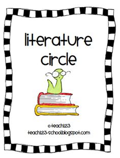 Teach123 - tips for teaching elementary school: Literature Circles