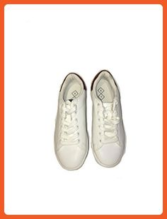 super popular ae34a a7cab A+ White Sneakers with Copper Trimmed Hell