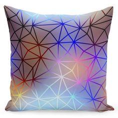 Moderná dekoračná obliečka na vankúše Blue Cushion Covers, Pillow Covers, Blue Cushions, Seat Cushions, Decorative Cushions, Shapes, Throw Pillows, Yellow, Prints