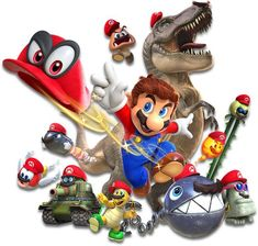 the super mario franchise of video games is developed by which company