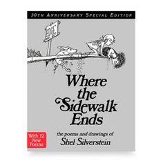 Where the Sidewalk Ends Book by Shel Silverstein - BedBathandBeyond.com