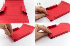 Bilderrahmen selber machen Origami