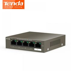 Tenda POE network Switchs Gigabit Switch 5 Port POE Switching Capacity Plug and Play Gadgets Online, Plugs, The 100, Electronics, Free, Corks