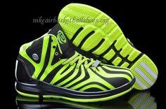 Adidas Derrick Rose 4.5 Black/Green Mens Basketball shoes 2014 Rose