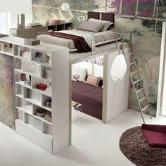 Teenage bedroom TIRAMOLLA 173 Tiramolla Collection by TUMIDEI   design Marelli e Molteni