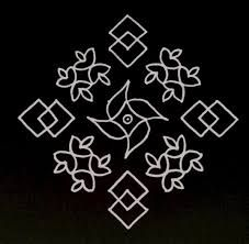 Image result for kolam with dots