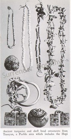Ancient Pueblo and Hopi Jewelry Native People Photogravure, via Flickr.