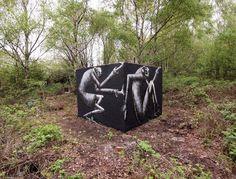Phlegm, 'Boxed', Sheffield - unurth | street art