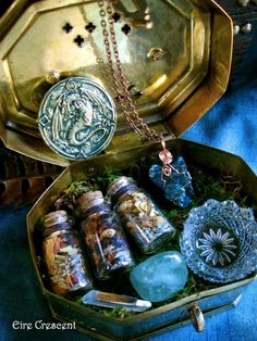 Faery Secrets Mini Faery offering kit by EireCrescent on Etsy