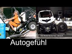 Micro Quadricycle vehicles crash test fail in Euro NCAP Golfcart/Renault Twizy - YouTube