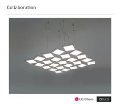 Indoor OLED lighting with electronic driver