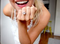 Engagement ring // Laura Heinikki Wedding Rings, Engagement Rings, Enagement Rings, Diamond Engagement Rings, Wedding Ring, Engagement Ring, Wedding Band Ring