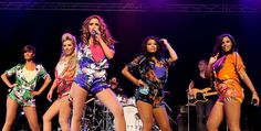 Frankie Sandford Photos Photos - Vanessa White, Una Healy, Mollie King, Rochelle Wiseman and Frankie Sandford of The Saturdays perform on the Big Top stage during day two of the Isle of Wight Festival 2010 at Seaclose Park on June 12, 2010 in Newport, Isle of Wight. The festival, now in it's ninth year after being reincarnated in 2002 is attended by 50,000 music fans, which features headline acts Jay Z, The Strokes and Sir Paul McCartney. - Isle of Wight Festival - Day 2
