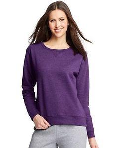 15.19$  Buy here - http://viqvb.justgood.pw/vig/item.php?t=8xijimu46927 - Hanes ComfortSoft EcoSmart Women's Crewneck Sweatshirt - 9 COLORS - S-2XL