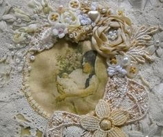 I ❤ ribbon embroidery & crazy quilting . . .