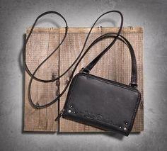 c48506d7767b Leather Crossbody Bag - 99518-15VW