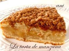 Cocina – Recetas y Consejos Apple Recipes, Sweet Recipes, Cake Recipes, Dessert Recipes, Sweet Pie, Sweet Tarts, Food Cakes, Cupcake Cakes, Tortas Light