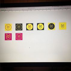 Revamping the iFestival logo for 2016. Way ahead of myself this time. #iOS #design #app