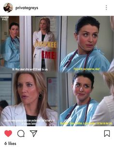 Amelia and Charlotte's friendship ❤❤❤ Private Practice Quotes, Amelia Shepard, Caterina Scorsone, Greys Anatomy Facts, Grey Quotes, All Tv, Film Serie, New Love, Best Tv