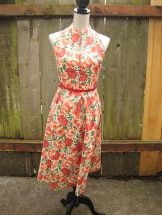 Vintage Dress by HazelRoberts on Etsy