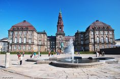 Christiansborg Palace; this palace is the seat of the Danish parliament, the Danish Prime Minister's Office and the Danish Supreme Court