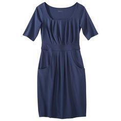 Merona® Petites Elbow-Sleeve Ponte Dress - Assorted Colors $27.99