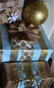 Gift wrapping 101 #tips #holidays