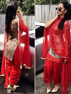 Always look adorable in Patiala Suit so girls ready to wear . Ladies Suits Indian, Indian Attire, Indian Wear, Suits For Women, Clothes For Women, Punjabi Fashion, Indian Fashion Dresses, Indian Designer Outfits, Indian Outfits