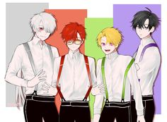 Zen, 707 (Luciel my baby), Yoosung and Jumin (my daddy)