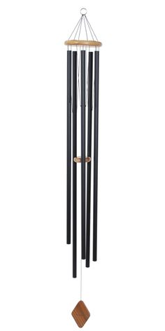 "This 68"" Majesty Bells chime comes with the handcrafted appeal of traditional construction, which nicely sets off its classic tones of church bells. The reassuring music will echo gracefully across your lawn."