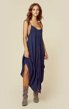 SUNDOWN HANK CAMI DRESS   @ShopPlanetBlue