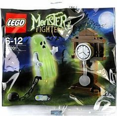 Amazon.com: LEGO Monster Fighters 30201 Ghost: Toys & Games