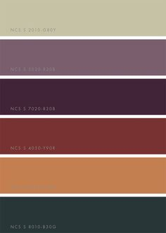 NCS Color Trends 2018 - Win a printed guide Color Trends 2018 by NCSColor via Eclectic Trends Colour Palette 2018, Color 2017, Color Trends 2018, Color Palettes, Fashion Trends 2018, Autumn Fashion 2018, 50 Fashion, Fashion Styles, Earthy Fashion