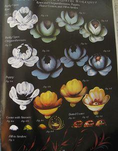 Priscilla Zhostovo ruso libro la pintura Floral por TheHowlingHag