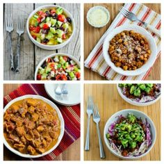 South Beach Diet Phase One Recipes Round-Up for October 2013.  This round-up features #LowGlycemicRecipes that are often #GlutenFree, #LowCarb, or #Paleo.   If you're not thinking about dieting right now, pin this to save for January!  [from Kalyn's Kitchen]