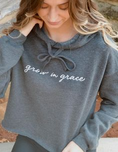 Elevate your faith in our Christian hoodies and stay warm all year long! Shop all of our Christian hoodies, tees, and hats today. All of our hoodies are made and printed in the USA! Christian Hoodies, Christian Clothing, Christian Apparel, Christian Jewelry, Christian Bracelets, Casual Outfits, Cute Outfits, Girly Outfits, Modest Outfits