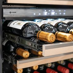 Suitable for red, white and sparkling wine. The UK's number one brand of wine coolers Wine Cabinets, Black Cabinets, Sliding Shelves, Door Alarms, Wine Chiller, Sink Taps, White Led Lights, Wire Shelving