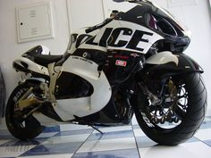 Hayabusa police bike. If only. C'mon DOC - new perimeter vehicles?