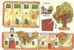 RECORTABLES CASAS CONSTRUCCIONES-RAFAEL CASTILLEJO-ZARAGOZA