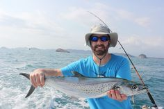 Inshore fishing in Savegre, Costa Rica