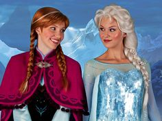 Anna & Elsa - Frozen