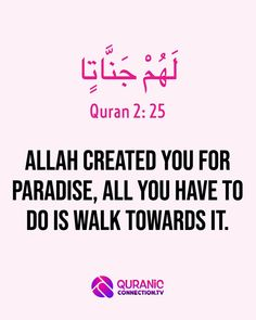 Allah has planned Jannah for You - 21 Ways to Get Close to Allah. Success matters to all muslim, How to win the Dunya and Akhira with this short Quranic guide.