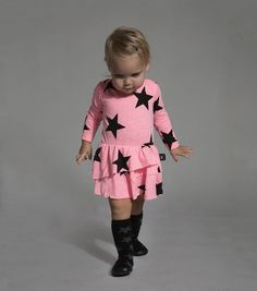 Star print baby at Nununu with style for fall 2016 baby fashion