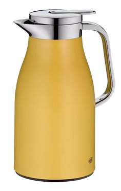 Skyline Isolierkanne 1,00 l | alfi® Skyline, Innovation Design, Mustard, Spicy, Water Bottle, Products, Pearl, Silhouette, Creative