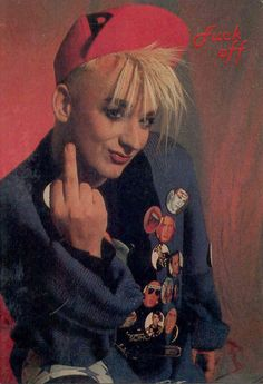 Boy George........ This is what you get for hurting him.......................