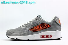 quality design bee7e 94122 Nike Air Max 90 KPU Mens Sneakers For Sale Gray Orange