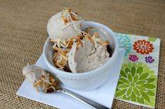 Coconut ice cream (only 2 ingredients!)